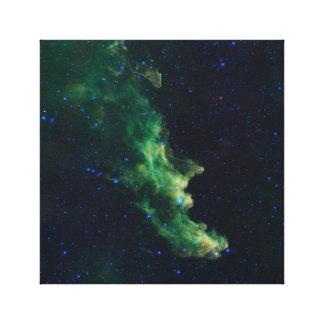 Space Galaxy Canvas Print