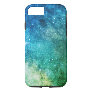 space galaxy colorful green iPhone 8/7 case