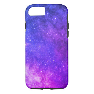 space galaxy colorful purple iPhone 8/7 case
