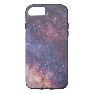 space galaxy colorful purple stars iPhone 8/7 case