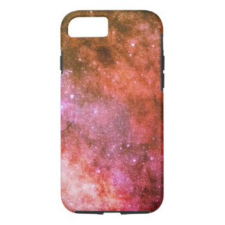 space galaxy colorful red iPhone 8/7 case
