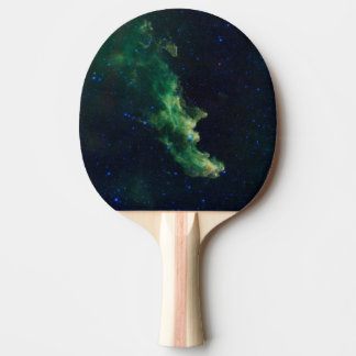 Space Galaxy Ping Pong Paddle