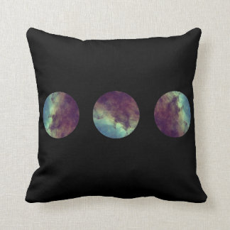 Space Galaxy Print Pillow