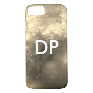 space galaxy sepia Monogram iPhone 8/7 Case