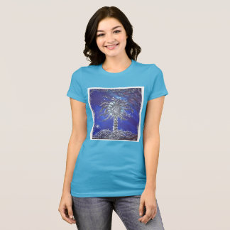 Space Galaxy Tree of Life Graphics T-Shirt