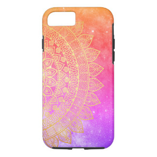 space galaxy tribal pattern iPhone 8/7 case