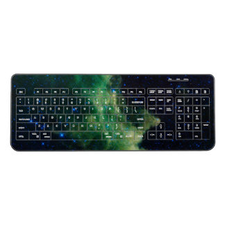Space Galaxy Wireless Keyboard