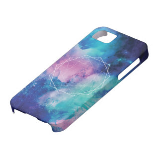 Space Geometry iPhone 5 Covers