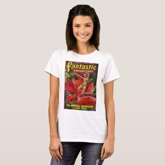 Space Girl Eaten by Flower T-Shirt
