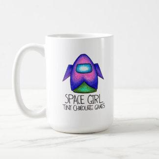 Space Girl Game: Space Ship Mug