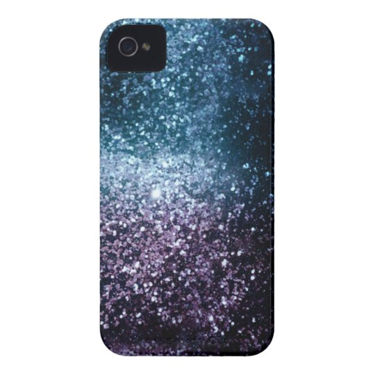 Space Glitter iPhone 4 Case-Mate Case