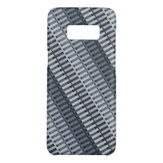 Space Gray Contemporary Stripe Pattern Case-Mate Samsung Galaxy S8 Case