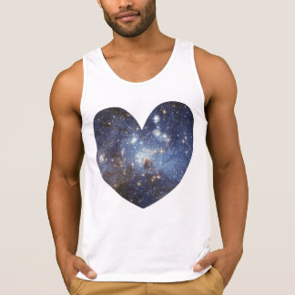 Space Heart Galaxy Love Print Astronomy Milky Way
