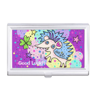 Space Hedgehog☆ Business Card Holder