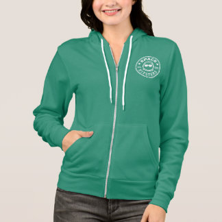 Space Hipsters Women's Color Zip Hoodie