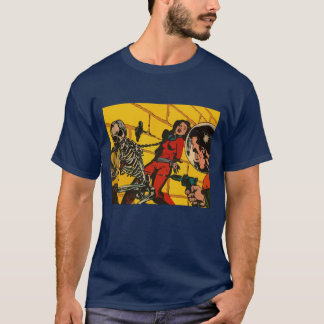 Space Horror - Vintage Science Fiction Comic Art T-Shirt