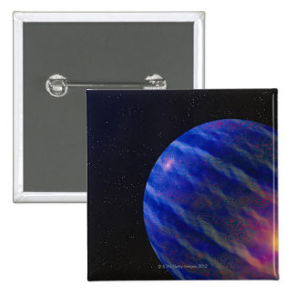 Space Image 2 2 Inch Square Button