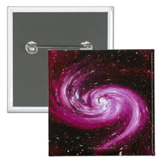 Space Image 4 2 Inch Square Button
