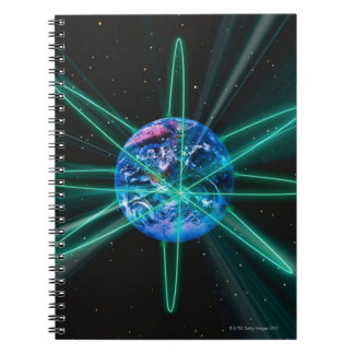 Space Image 7 Spiral Note Books