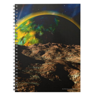 Space Image 8 Spiral Note Book