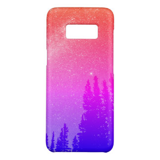 space in the woods colorful bright Case-Mate samsung galaxy s8 case