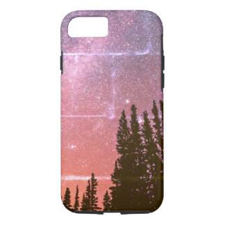 space in the woods vintage grunge iPhone 7 case
