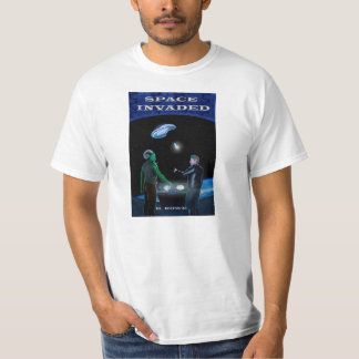 Space Invaded t-shirt
