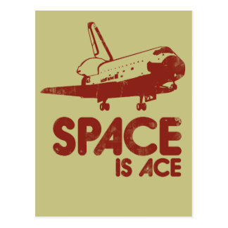 Space is Ace Postcard