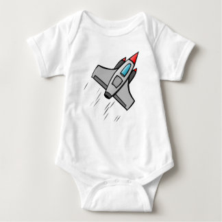 Space Jet Baby Bodysuit