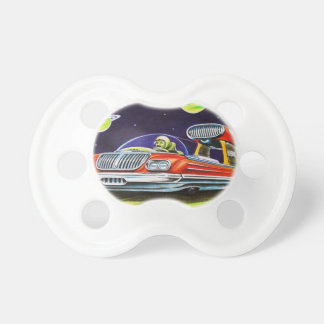 SPACE JET CAR PACIFIERS