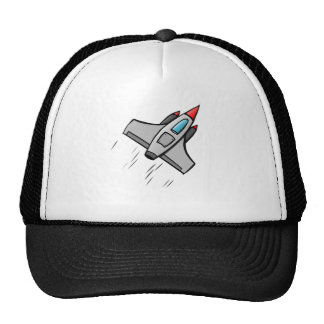 Space Jet Trucker Hat
