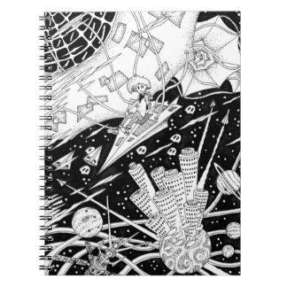 Space kite notebook