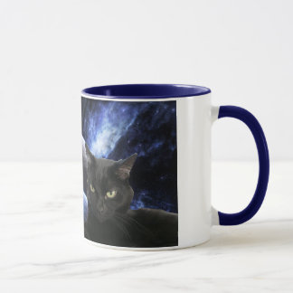 Space kittehs mug