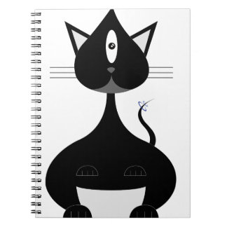 Space kitty notebook