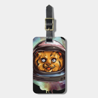 Space Kitty will boldly go..... Yes, it's a ginger Luggage Tag