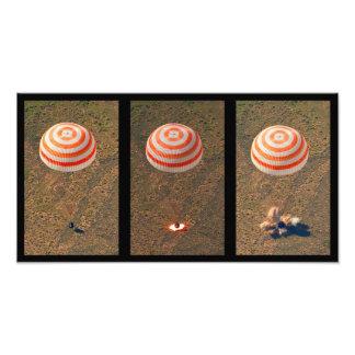 Space Landing - Touchdown Photo Print
