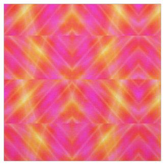 Space Light Beams - Yellow Orange Lilac - Fabric