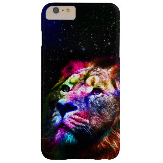 Space lion _caseSpace lion - colorful lion - lion Barely There iPhone 6 Plus Case