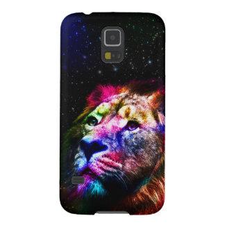 Space lion _caseSpace lion - colorful lion - lion Case For Galaxy S5