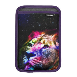 Space lion _caseSpace lion - colorful lion - lion iPad Mini Sleeve