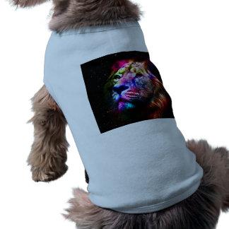 Space lion - colorful lion - lion art - big cats dog clothes