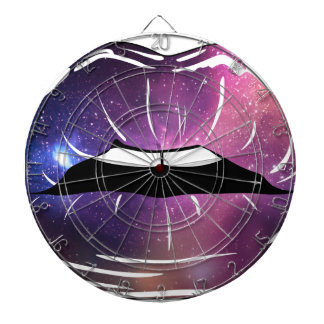 Space Lips Dartboard