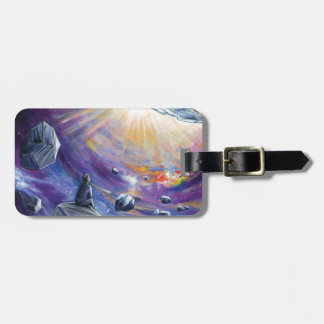 Space Luggage Tag