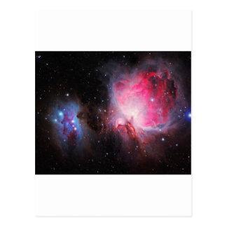 Space M42  Great Orion Nebula  Ghost Nebula Postcard
