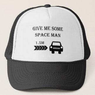 """Space man"" custom cycling caps"