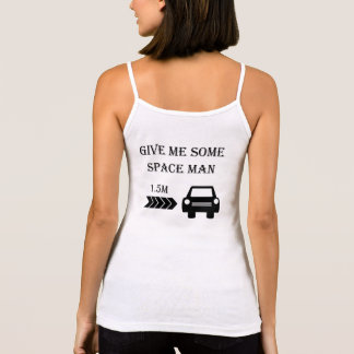 """""""Space man"""" cycling strappy tops for women"""