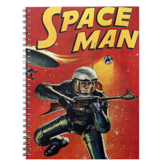 Space Man Vintage Comic Book