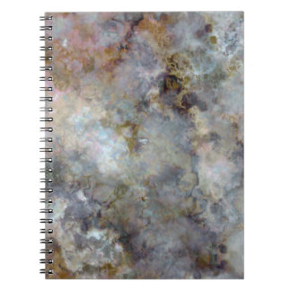 Space Marble Notebook