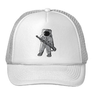 Space Marine - Astronaut with a Rifle Hats