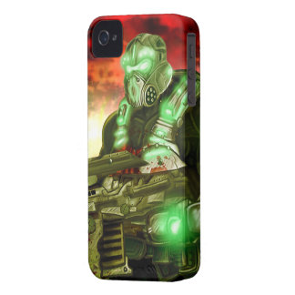 Space Marine iPhone 4/4S Case-Mate Barely There™ iPhone 4 Cover